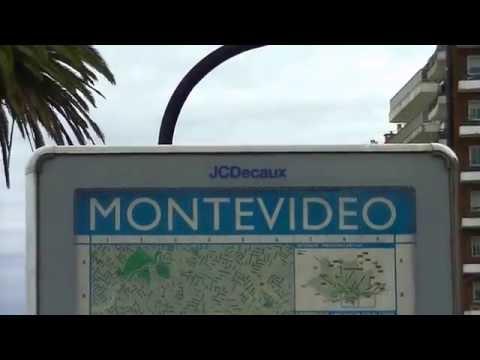 "Montevideo turistico : "" Rambla Pocitos "" . Uruguay."