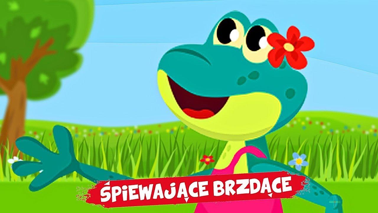 śpiewające Brzdące żabie Kroki Piosenki Dla Dzieci