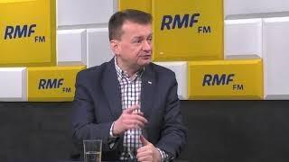 Mariusz Błaszczak gościem Krzysztofa Ziemca w RMF FM