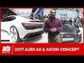 Audi A8 et Aicon Concept [SALON FRANCFORT 2017] : toujours plus autonomes