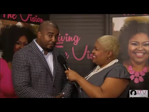 LIVING THE VISION with Lady G interview with Bishop Jason Nelson