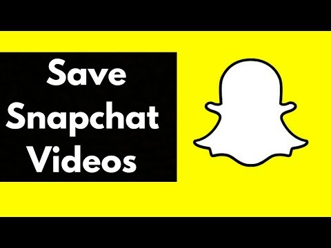 How To Save Snapchat Videos On IPhone 2017