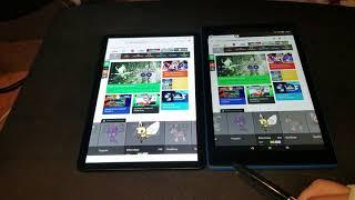 Samsung tab s4 vs Amazon fire hd 10