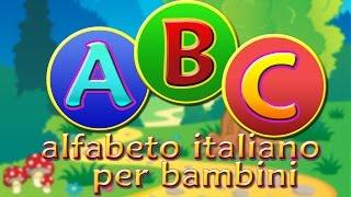 Canzone dell'Alfabeto Italiano - Canzoni per bambini in italiano di DolciMelodie.tv