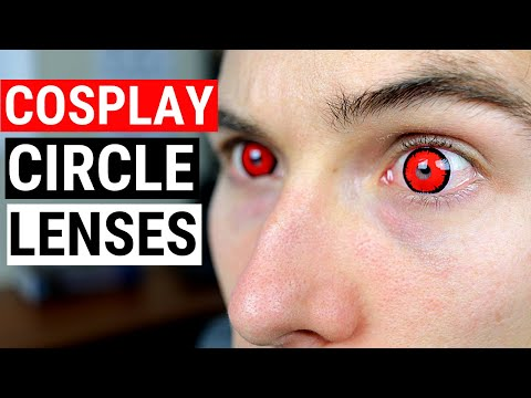 Cosplay Contacts and