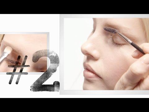 Instant Artistry: Perfekte Brauen für helle Haut