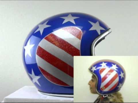 Retro American Helmet
