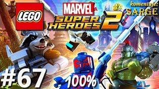 Zagrajmy w LEGO Marvel Super Heroes 2 (100%) odc. 67 - Syndrom Dratewki 100%