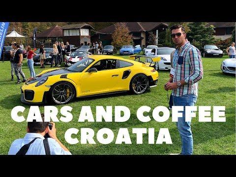 Cars and coffee Croatia | Behind the scenes. Porsche 918, Porsche GT2 RS, Rimac...
