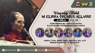#LiveStreaming Wayang Climen Wargo Laras Ni Elisha Orcarus Allasso - SRIKANDI KRIDHA