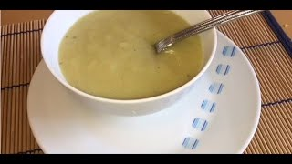 Homemade Leek & Potato Soup // Healthy & Easy Recipe