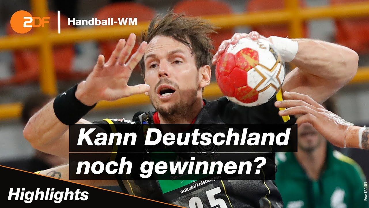 deutschland brasilien highlights handball wm 2021 zdf