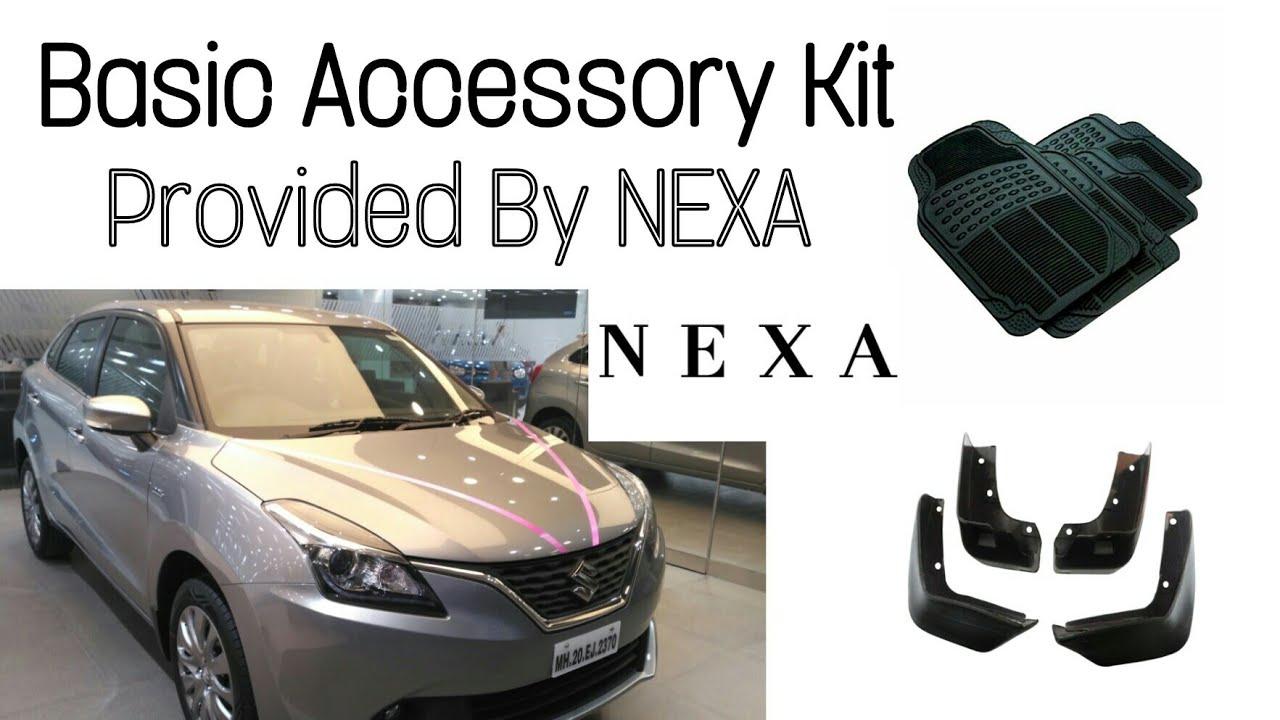Basic Accessory Kit By Nexa For Baleno In Hindi Youtube