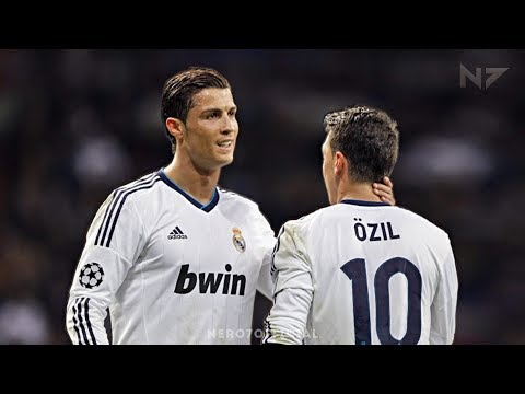 Cristiano Ronaldo and Mesut Özil ● The Perfect Duo ● All Assists On Each Other 2010-2013 | HD