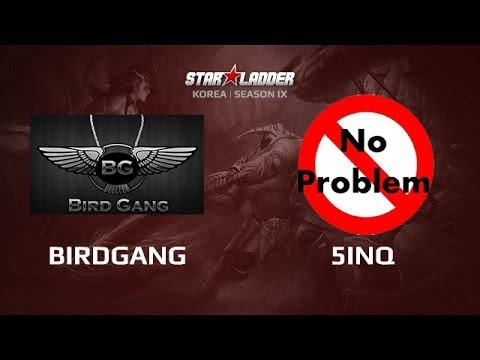 BirdGang -vs- 5inQ_NP, Star Series Korea Day 5 Game 1