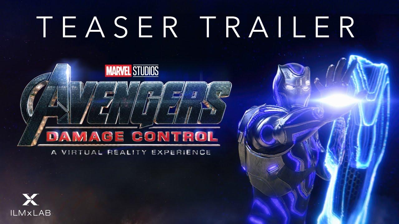 "Marvel Studios Announces ""Avengers: Damage Control"" Virtual Reality Game"