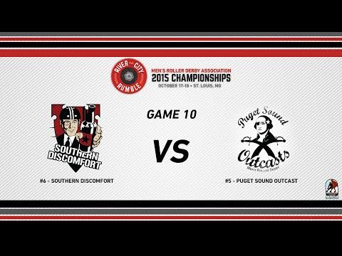 River City Rumble - 2015 MRDA Championships - G10 Southern Discomfort vs Puget Sound