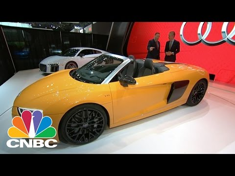 Audi CEO Scott Keogh Gives First Look At New R8 Spyder | CNBC