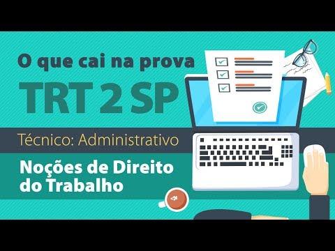 TRT 2 - Noções de Direito do Trabalho