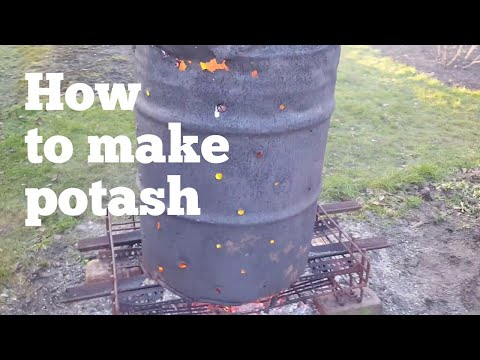 How to make potash (free fertilizer)