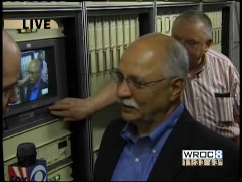 WROC-TV analog shutoff 6/12/09 - live from Pinnacle Hill, Rochester, NY