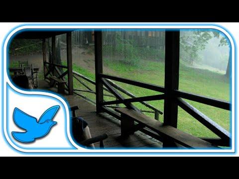 Rain sounds for sleeping - Rainstorm - Rainfall - Thunderstorm - White Noise