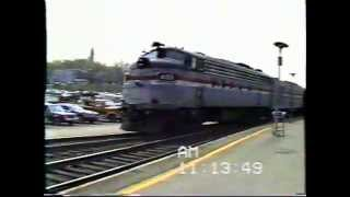 Amtrak Albany 1980s - Part 1 (FL9s and F40s)