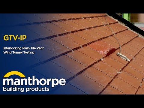 Manthorpe Building Products - Interlocking Plain Tile Vent - Wind Tunnel Testing