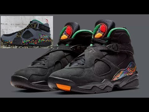 best authentic c8bfd 27b7a AIR JORDAN 8 TINKER ICONS AIR RAID SNEAKER
