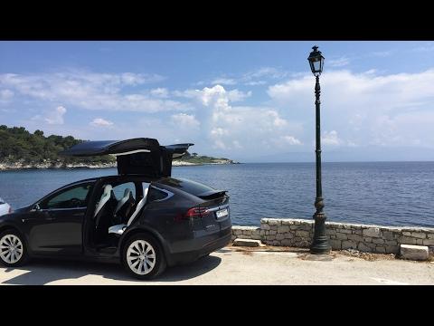 Tesla Model X Eurotrip Norway-Greece