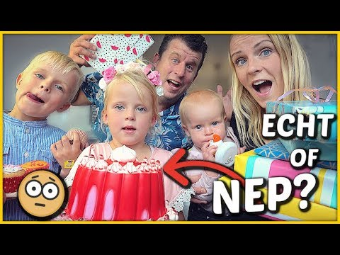 iS DEZE SLAGROOMTAART ECHT OF NEP? 🤔 ( fanmail uitpakken)   Bellinga Familie Vloggers #1425