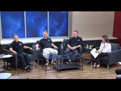ISS Expedition 41-42 Crew News Conference