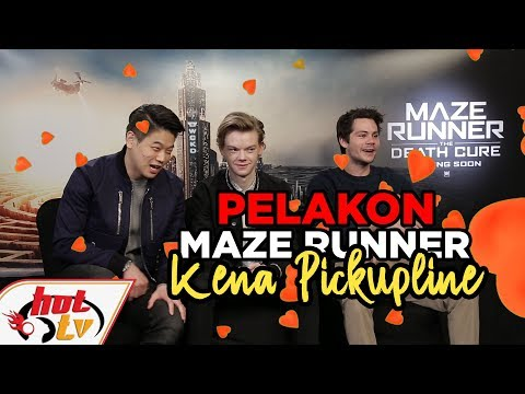 Maze Runner cast LOST IT to cheesy pickup-lines!