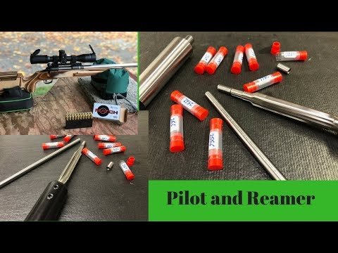 Live Pilot Reamer and Indicating Rod and Bushings by PTG