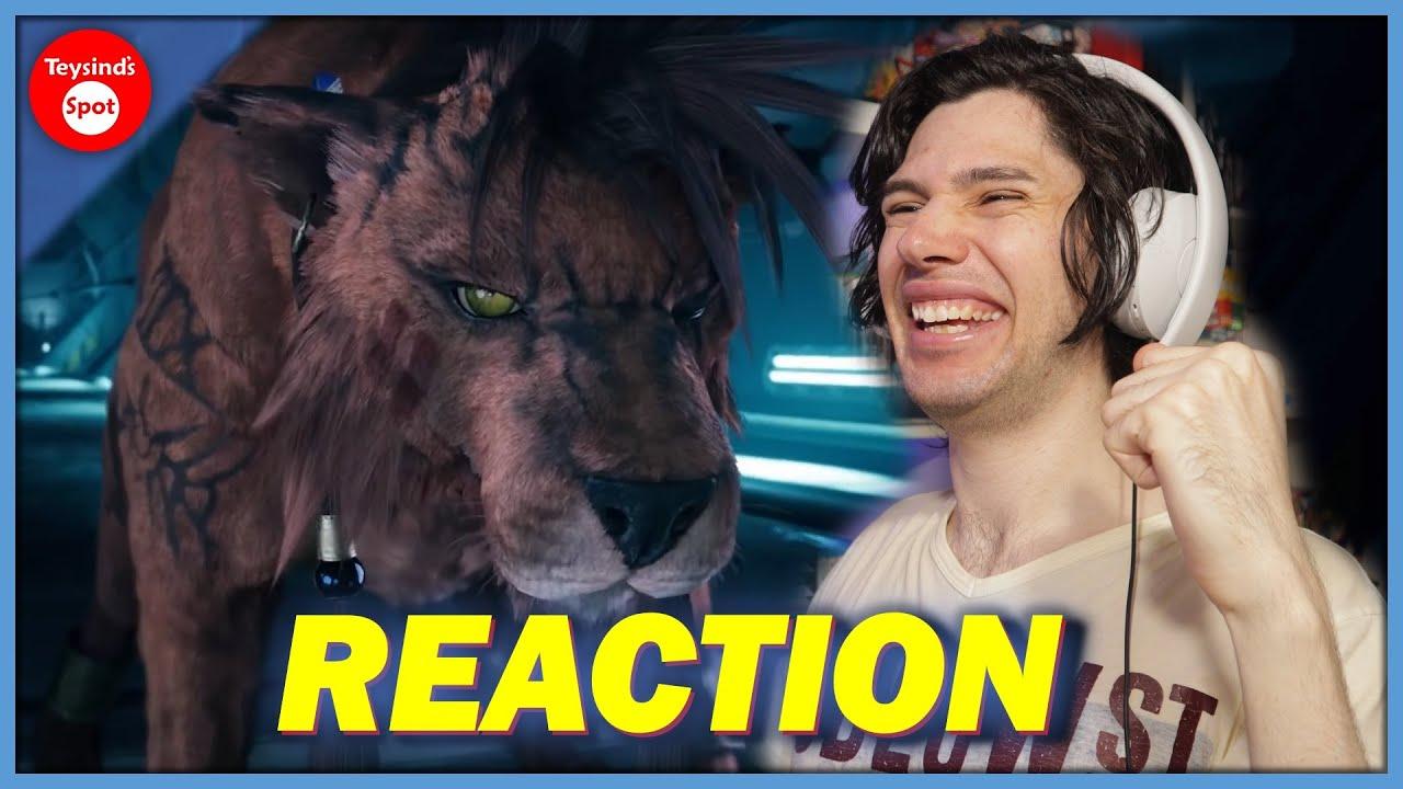 REACTION | Final Fantasy VII Remake - Theme Song Trailer