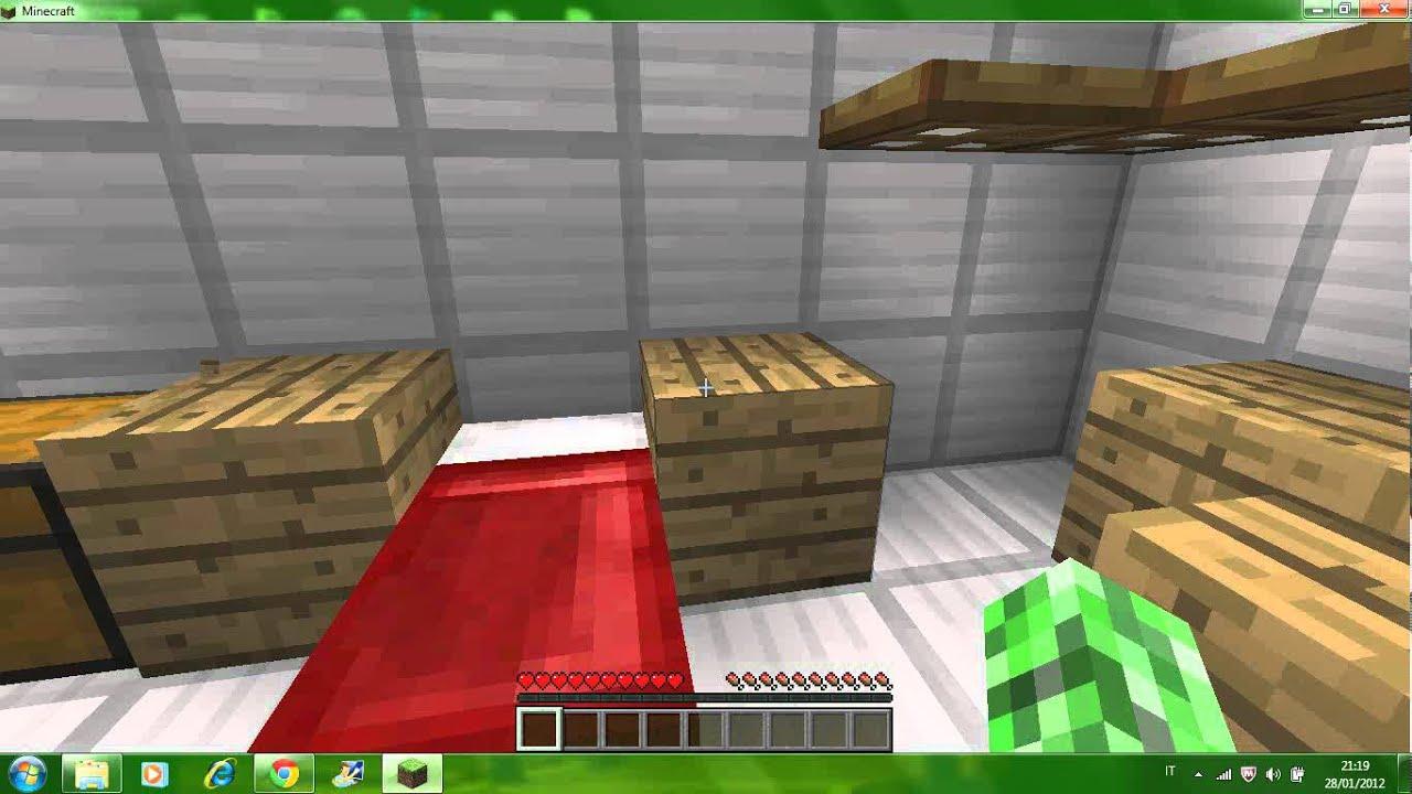 Minecraft come decorare la propria casa youtube for Creare la propria casa