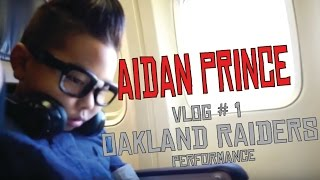 Performance at oakland raiders vs denver broncos game | vlog #1 |  aidan prince