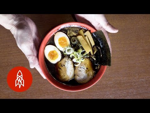 Trying Japan's Famous Black Ramen