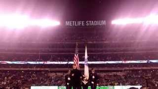 John Rzeznik Goo Goo Dolls National Anthem NY Jets 12/1/2014