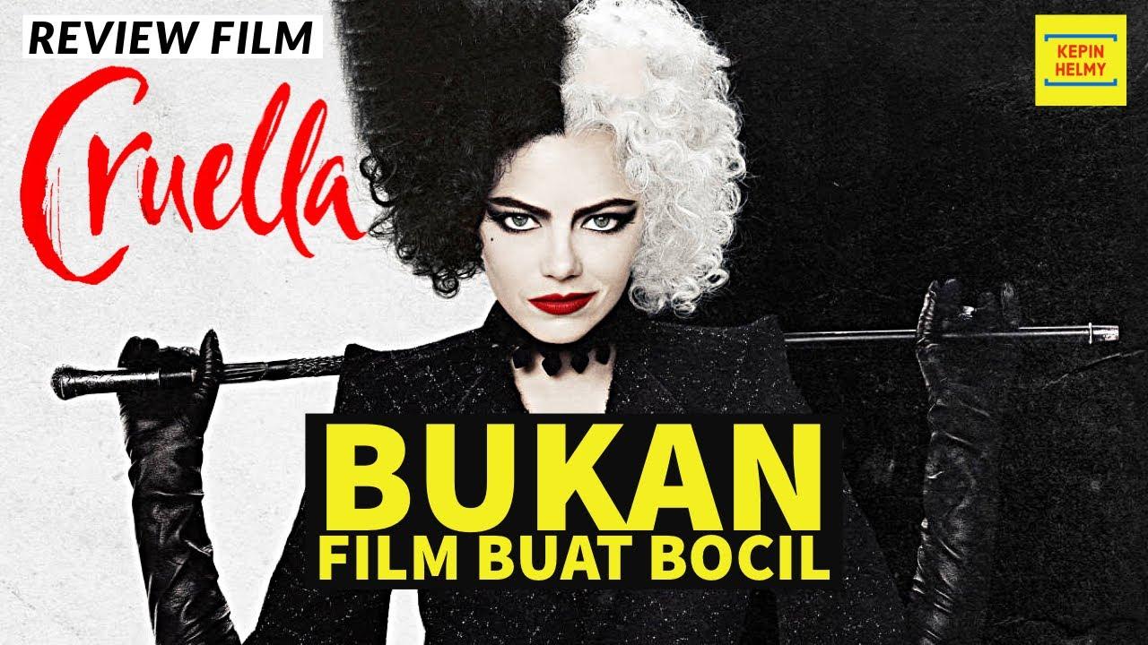 BOCIL DILARANG NONTON FILM INI -  Review Film Cruella (2021)