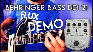 Behringer Bass BDI 21 - DEMO - Presets