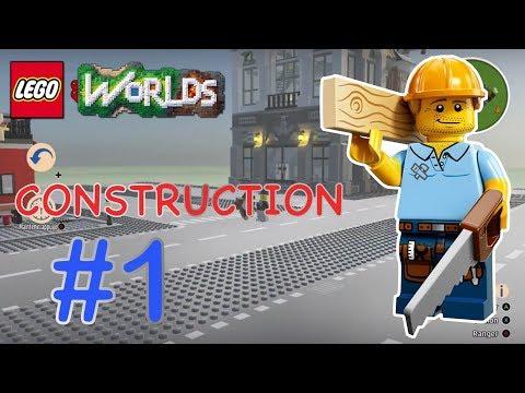 QUE LA CONSTRUCTION COMMENCE !!! (LEGO Worlds Série Construction Épisode 1)