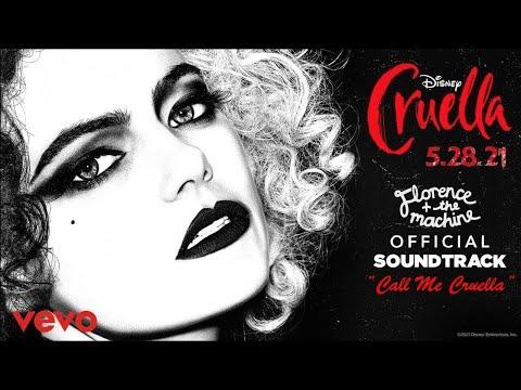 "Florence + The Machine - ""Call me Cruella""   Official Soundtrack/Lyrics   ""Disney's Cruella"" (2021)"