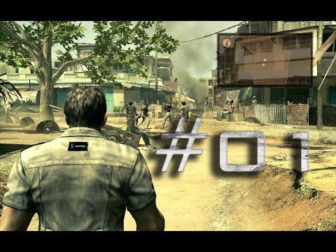 Resident Evil 5 - Bem Vindos a Africa- COOP #01