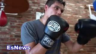 Amir khan sparring partner damien lopez aka the american maidana EsNews Boxing