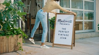 how do madewell jeans fit? / the perfect vintage jean edition
