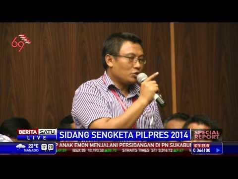 Special Report: Tim KPU Bertanya Kepada Saksi Prabowo