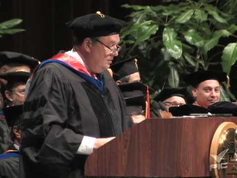 Fall 2009 Commencement Speech, Thomas Baker - 3 of 3