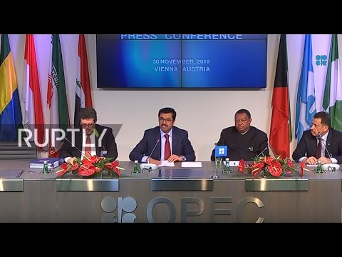 LIVE: OPEC ministerial meeting in Vienna - Final press confe