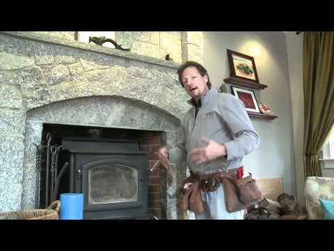 Installing an Air Tight Chimney Cap to Stop Air Leakage